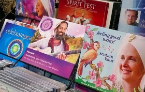CD display - Kundalini Yoga Karingal