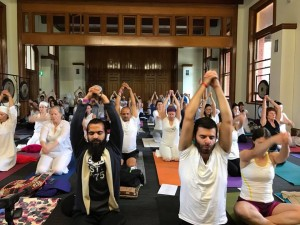 Kundalini Yoga Frankston - festival day in Melbourne 2017