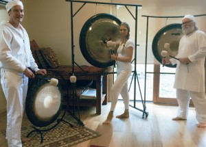 Gong bath near our Frankston yoga class